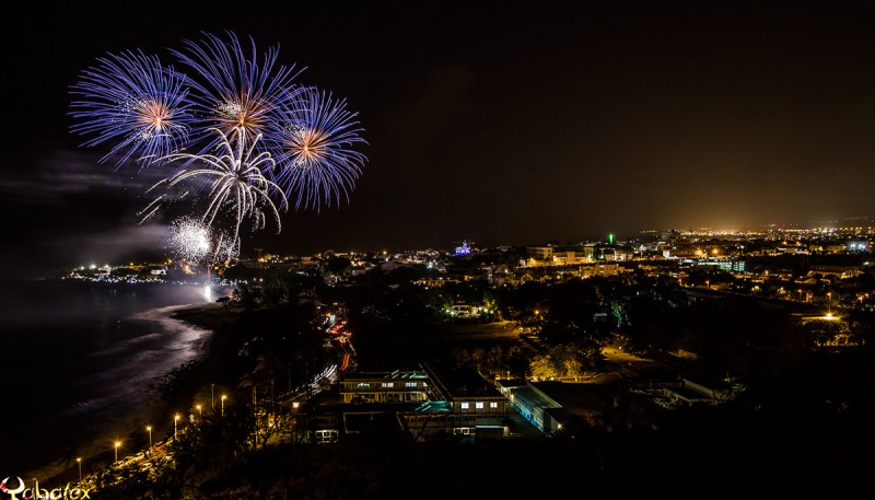 Saint-Denis, feu d'artifice 2015