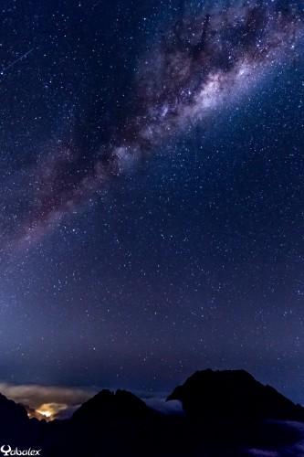 astro au Maïdo, voie lactée - Yabalex