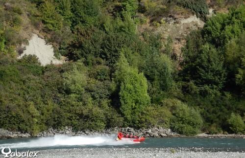 Jet boat sur la Shotover River