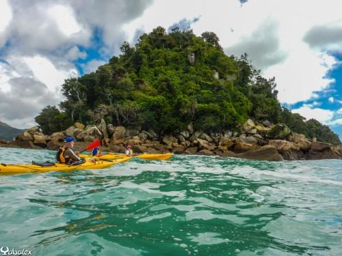 Découvert du Parc d'Abel Tasman en kayak de mer