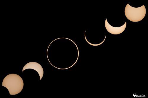 Eclipse annulaire - 1er septembre 2016