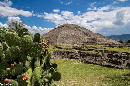 Téotihuacan, pyramide du soleil