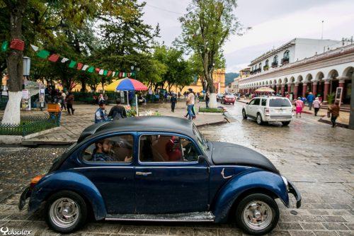 Zocalo de la ville de Oaxaca