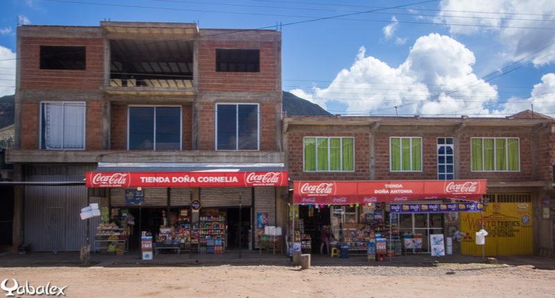 La marque Coca est présente partout même dans les lieux reculés