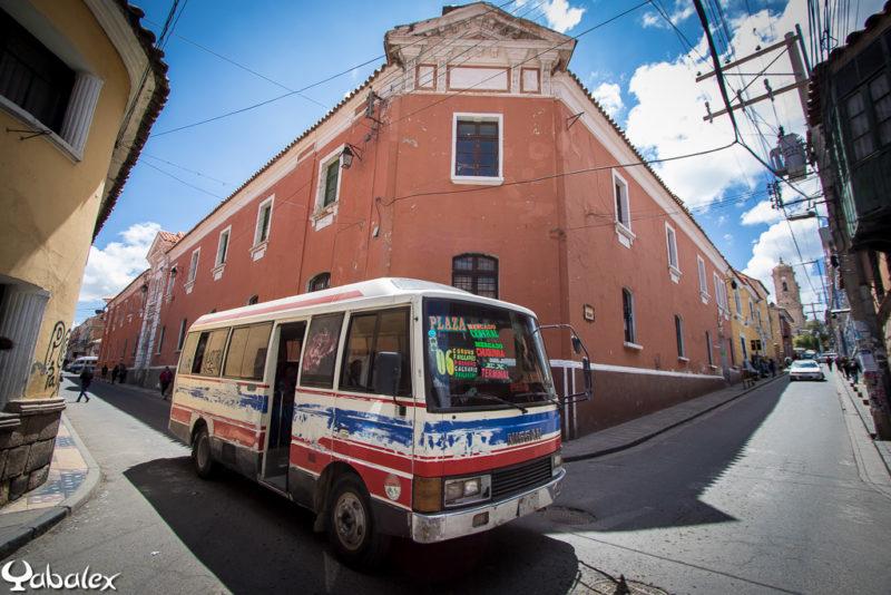Petit bus de Bolivie