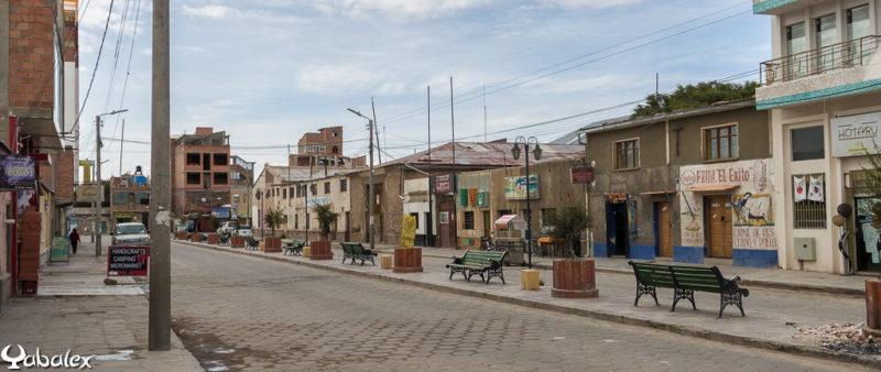 Une rue de Uyuni