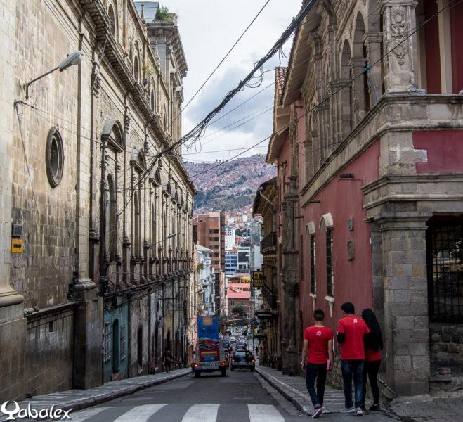 Rue de la Paz, Bolivie