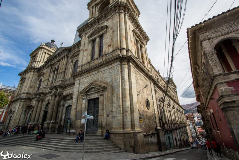 Basilique Cathédrale de Notre Dame de la paix, de la plaza Murillo